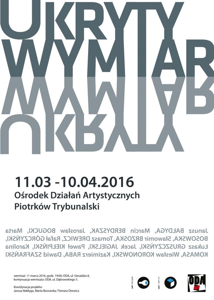 UKRYTY WYMIAR - PLAKAT B1 - literniczy-01